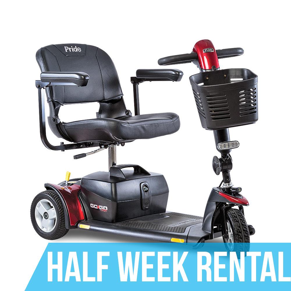 (Half Week Rental) GoGo Standard Mobility Scooter