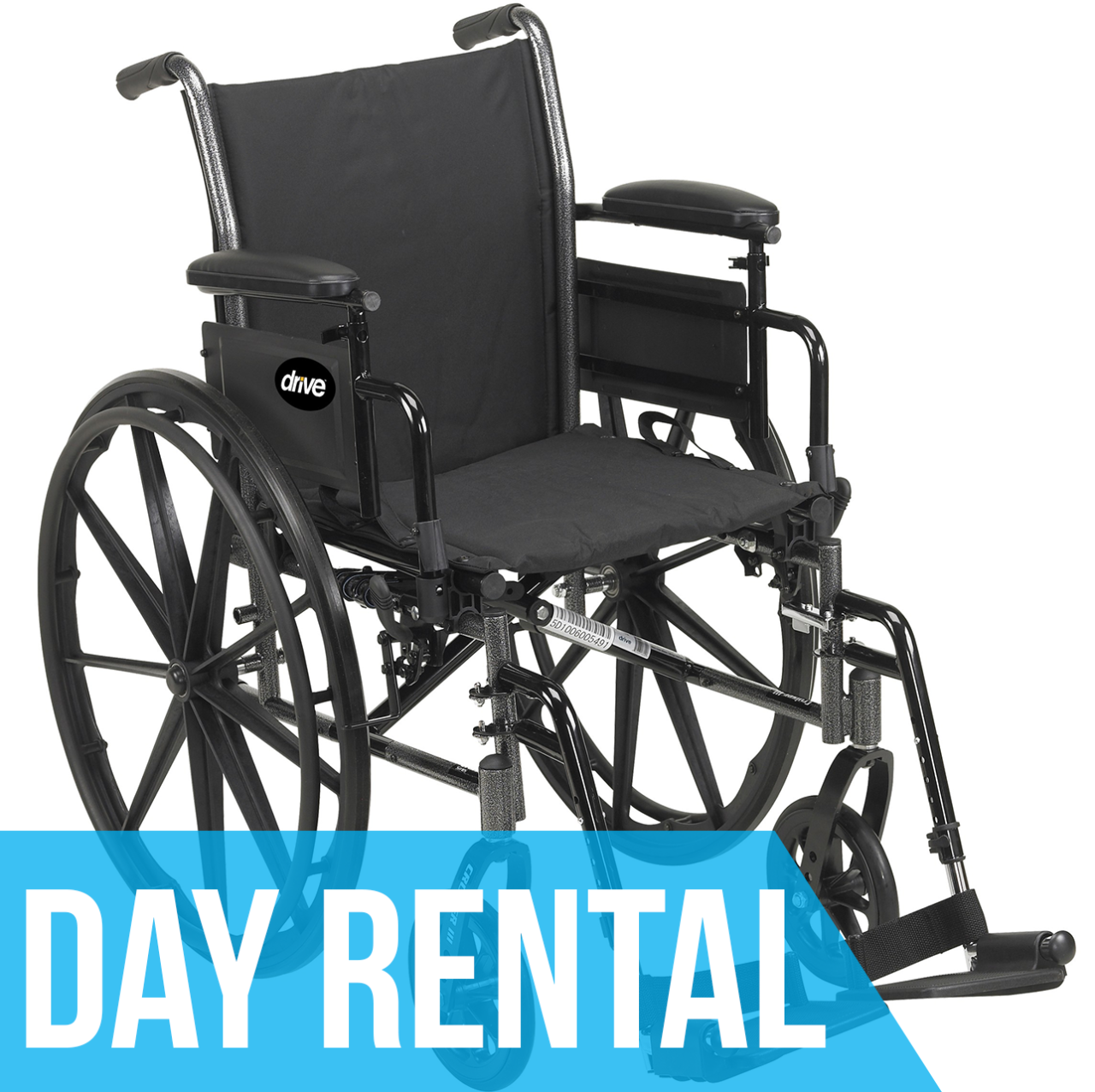 (Day Rental) Standard Wheelchair