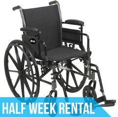 (Half Week Rental) Standard Wheelchair