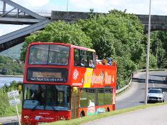 City Sightseeing Oban open-top bus tour to Connel 2017