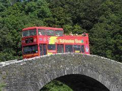 City Sightseeing Oban open-top bus tour to Atlantic Bridge 2017