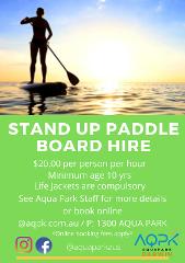 Paddle Board Hire - Darwin Waterfront Recreational Lagoon