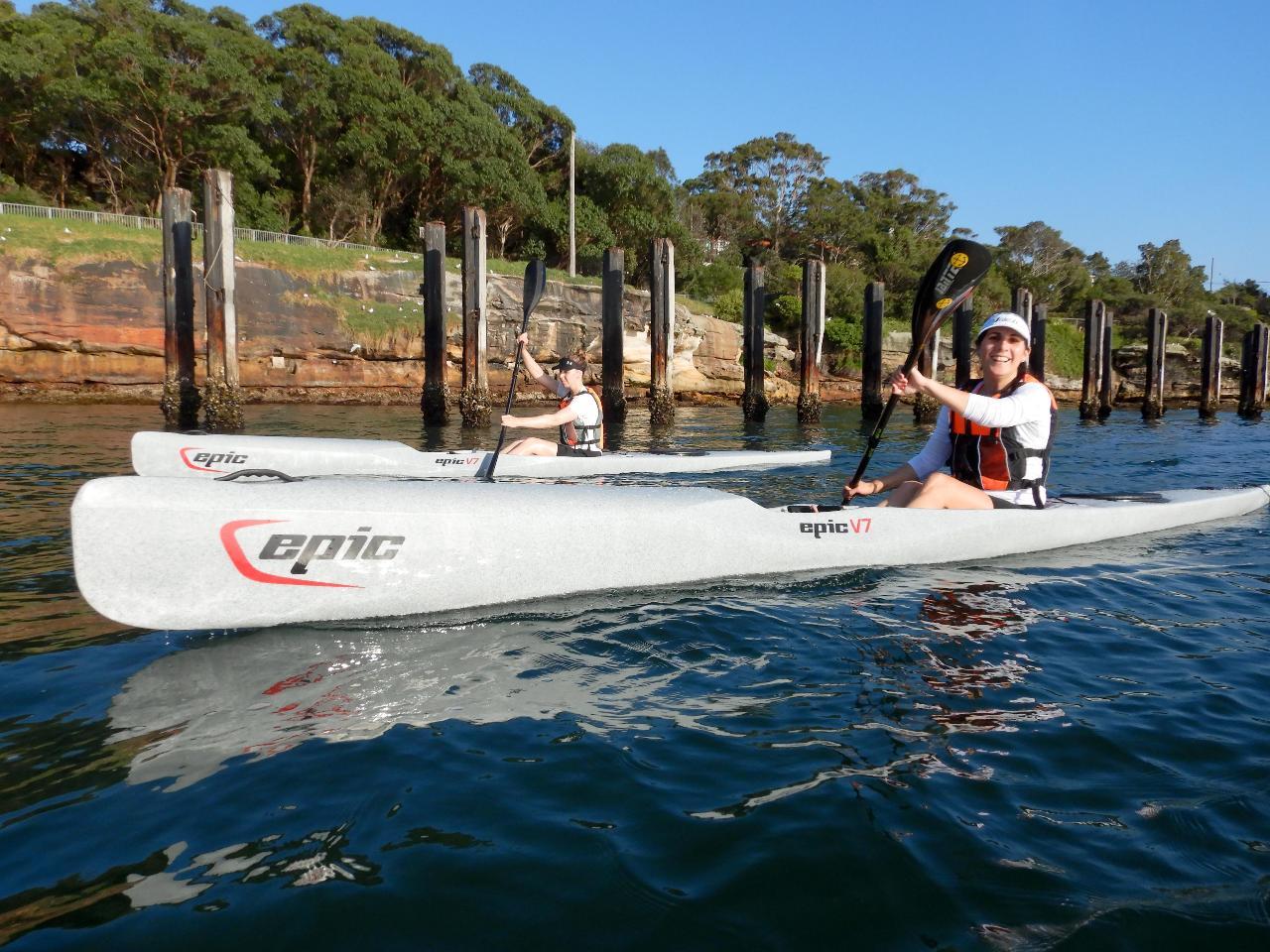 Introduction to Paddling - Sea Kayak to Surf Ski