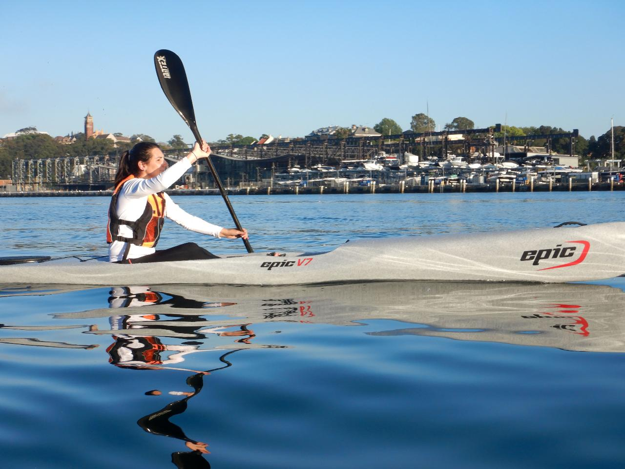 GIFT VOUCHER - LEARN TO PADDLE A SURF SKI (x1 seat)