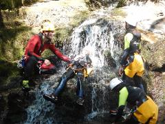 Canyoning 1/2 day: Family fun