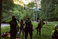 Heli-accessed canyoning: Expert