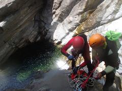 Canyoning Full day: Independent canyoneer