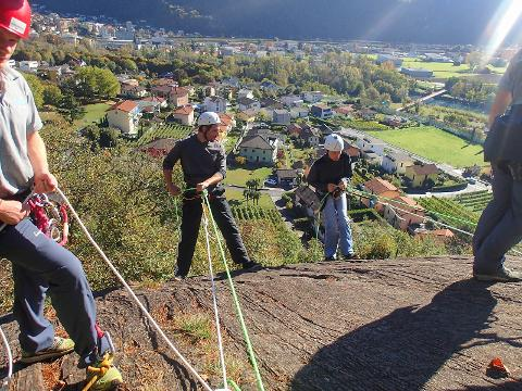 Team building 1/2 day: Abseiling program