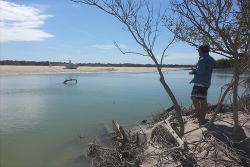 Heli-Crabbing (Broome)
