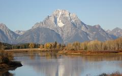 GRAND TETON WINTER FULL DAY GUIDED TOUR FROM JACKSON HOLE.  1 to 4 PEOPLE.