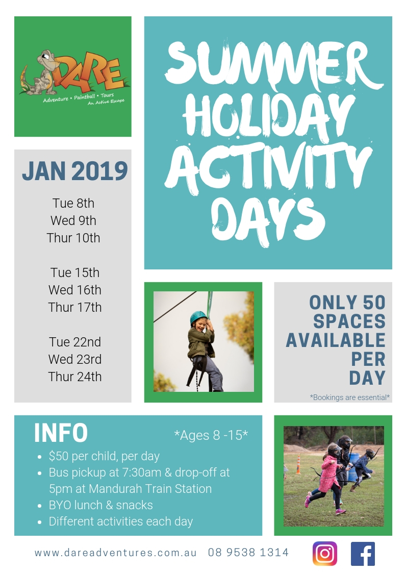 Summer Holiday Activity Days