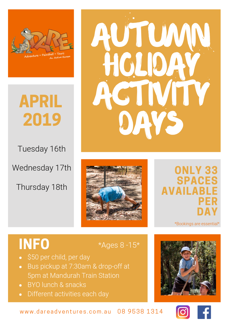 Autumn Holiday Activity Days