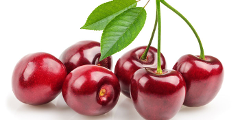 Cherries and Berries and Christmas Lunch. Friday 4th December