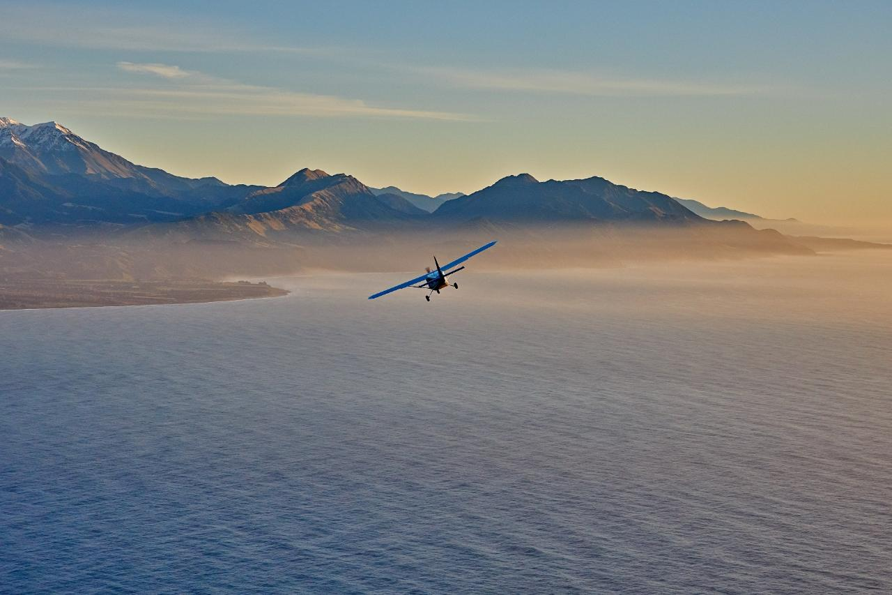 45 Minute - Kaikoura Scenic Mountain Flight