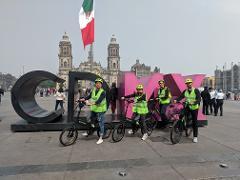 Mexico City Highlights E-Bike Guided Tour