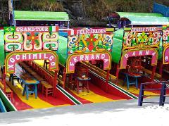 Xochimilco, CYCLING & TRAJINERAS with NOMAD