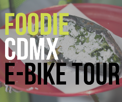 Foodie Lovers and Trendy CDMX E-Bike Tour