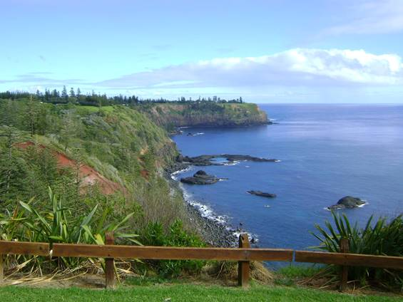Breakfast Bushwalk at Captain Cook's Lookout Norfolk Island