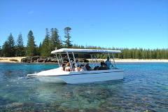 Glass Bottom Boat Tour Norfolk Island