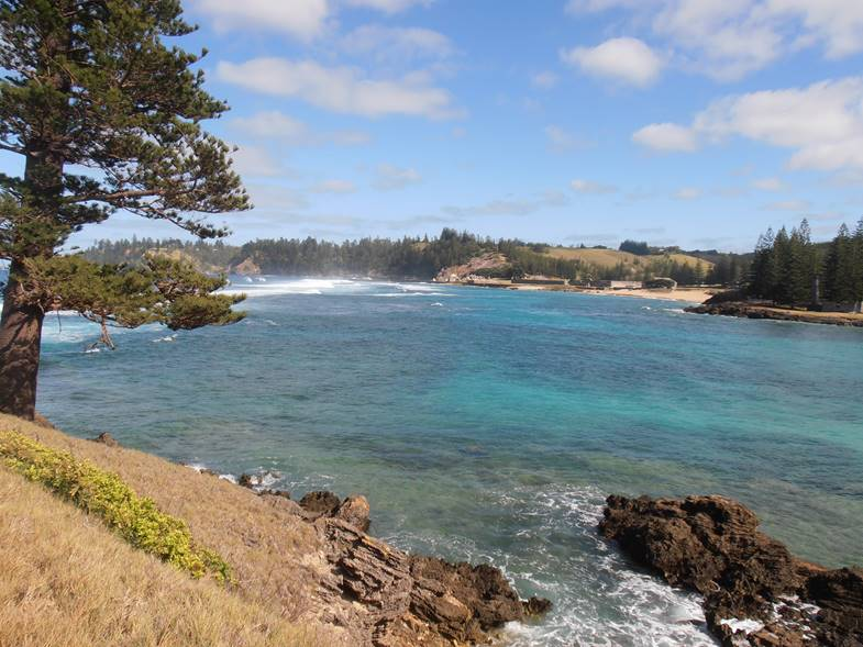 Tasty delights of Norfolk Island Holiday July - August 2021