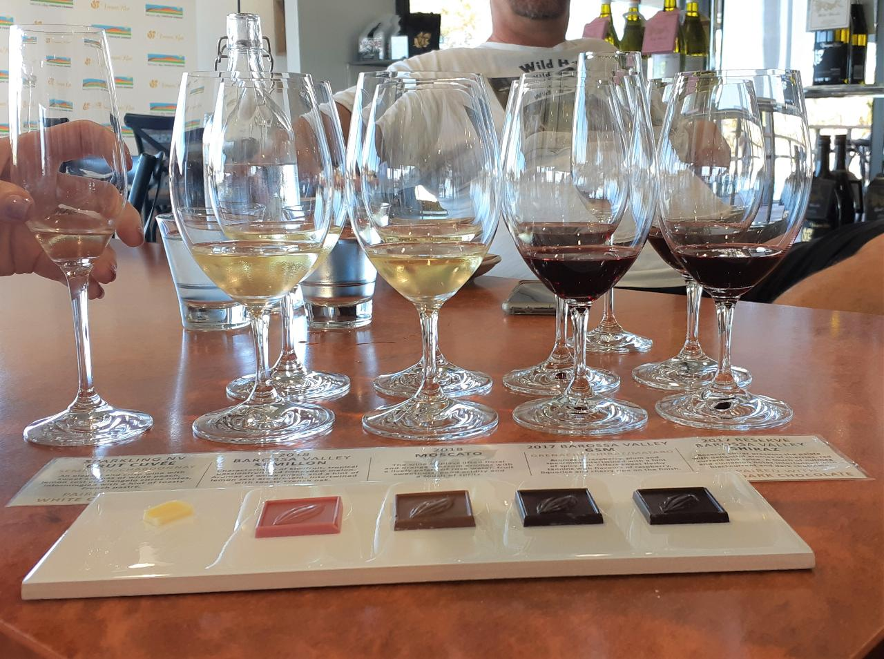 CHOCOLATE & FINE WINES - SHARED DAY TOUR