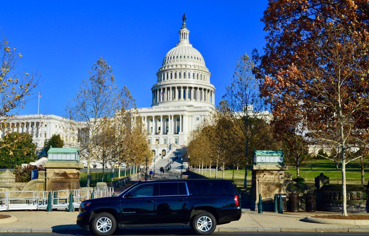Private SUV Tour of Washington DC