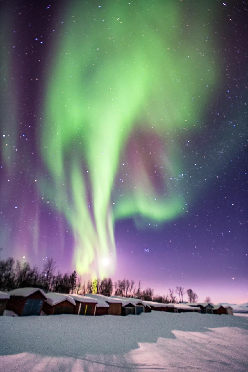 Northern Light Photography Tour WITH PICKUP