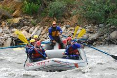 Canyon Whitewater Rafting Run