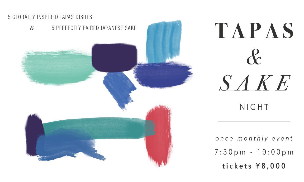 Tapas and Sake Night