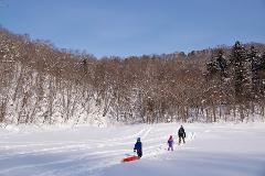 Snowshoe Tour Lake Hangetsu
