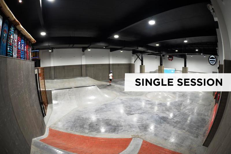 Single Skate Session