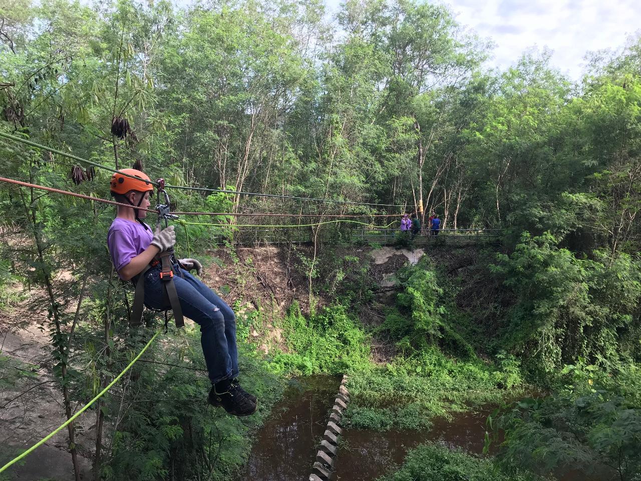 CMRCA Adventure Camp Day 3: Rope Bridge Challenge