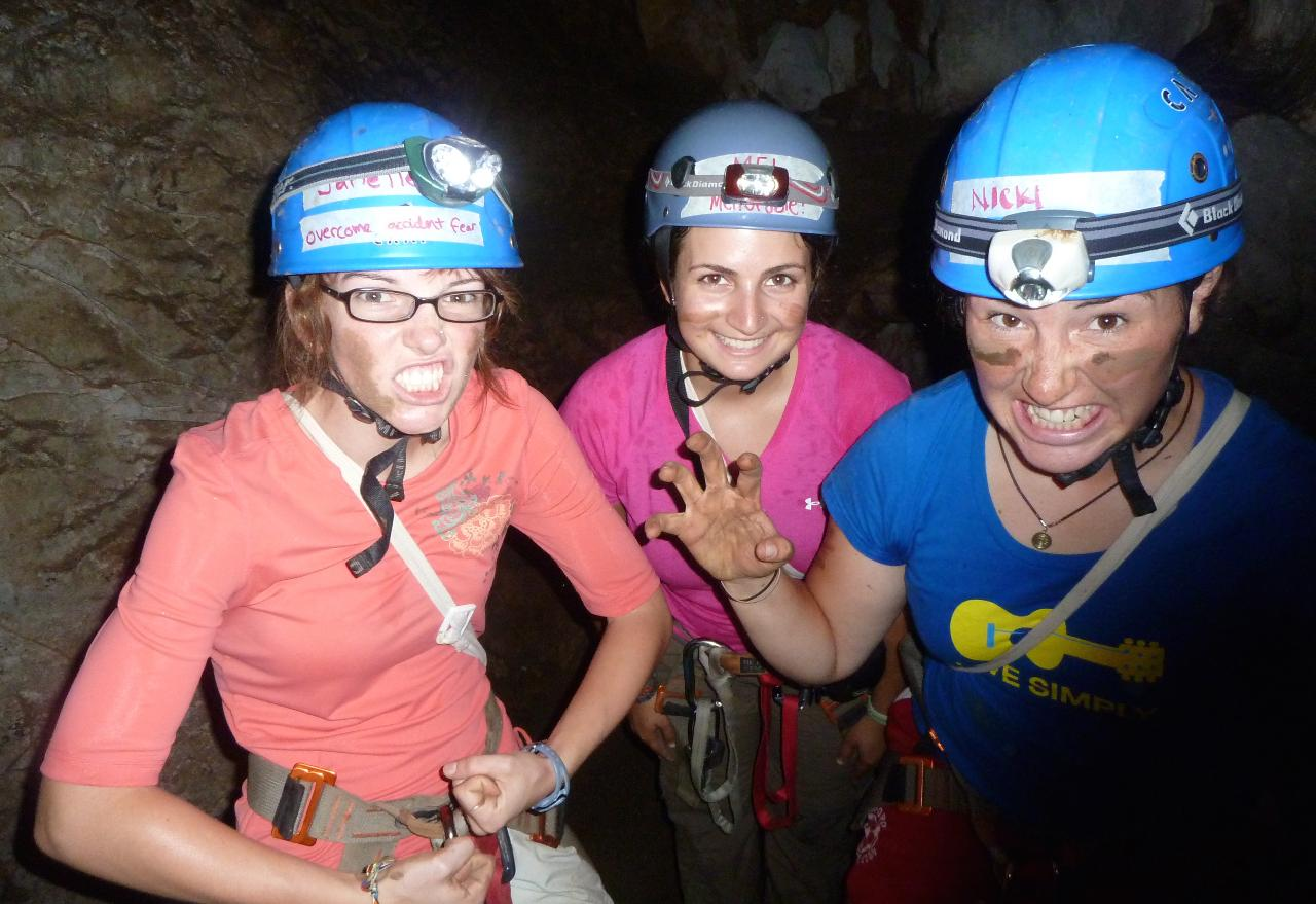 CMRCA Adventure Camp Day 4: Caving Adventure