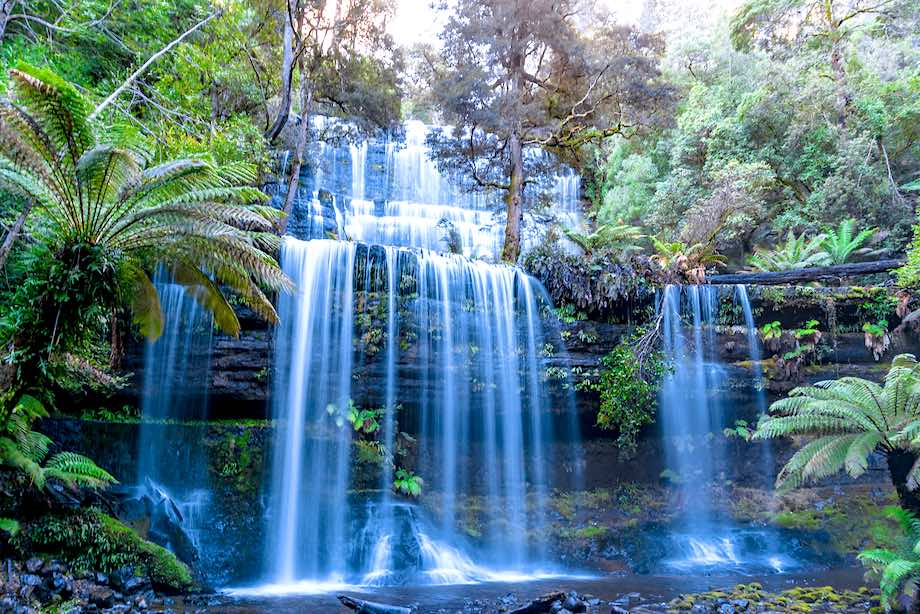 Russell Falls Tour from Hobart