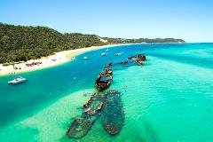 Tangalooma Island Resort Day Tour from Brisbane (with optional dolphin activity upgrades)
