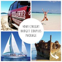 4Day/2Night Budget Couples Fraser Island & Whitsundays Package