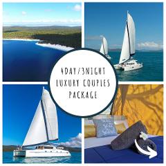 4Day/3Night Luxury Couples Fraser Island & Whitsundays Package