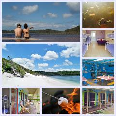 2Day/1Night Fraser Island 4WD Adventure featuring accommodation @ The Beach House Hostel
