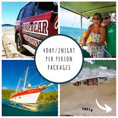 4Day/2Night Fraser Island & Whitsundays Sailing Package
