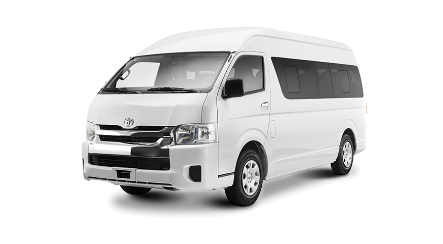 Explora Toyota Hiace Commuter 13 Pax