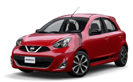 Explora Nissan March SR @Bacalar