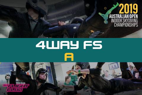Australian Open 2019 - 4-way FS A - EARLY BIRD $50 OFF