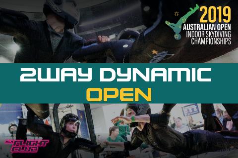 Australian Open 2019 - 2-way Dynamic Open - EARLY BIRD $50 OFF