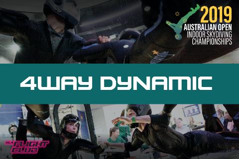 Australian Open 2019 - 4-way Dynamic - EARLY BIRD $50 OFF