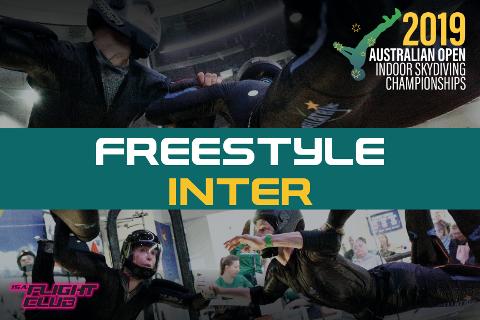 Australian Open 2019 - Freestyle Inter - EARLY BIRD $50 OFF