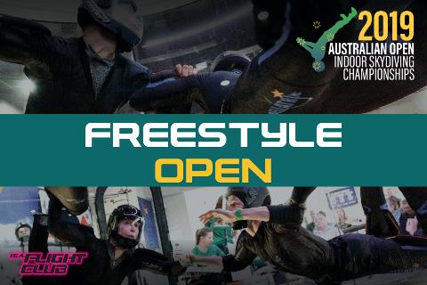 Australian Open 2019 - Freestyle Open - EARLY BIRD $50 OFF