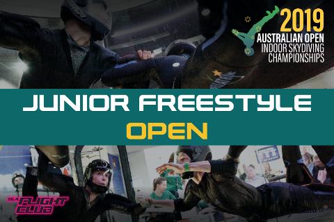 Australian Open 2019 - Junior Freestyle Open - EARLY BIRD $50 OFF