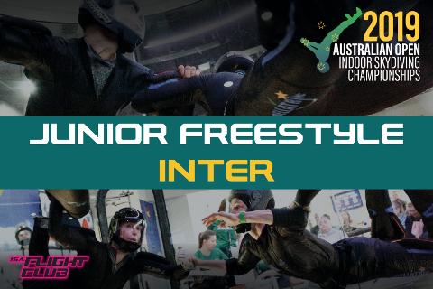 Australian Open 2019 - Junior Freestyle Inter - EARLY BIRD $50 OFF