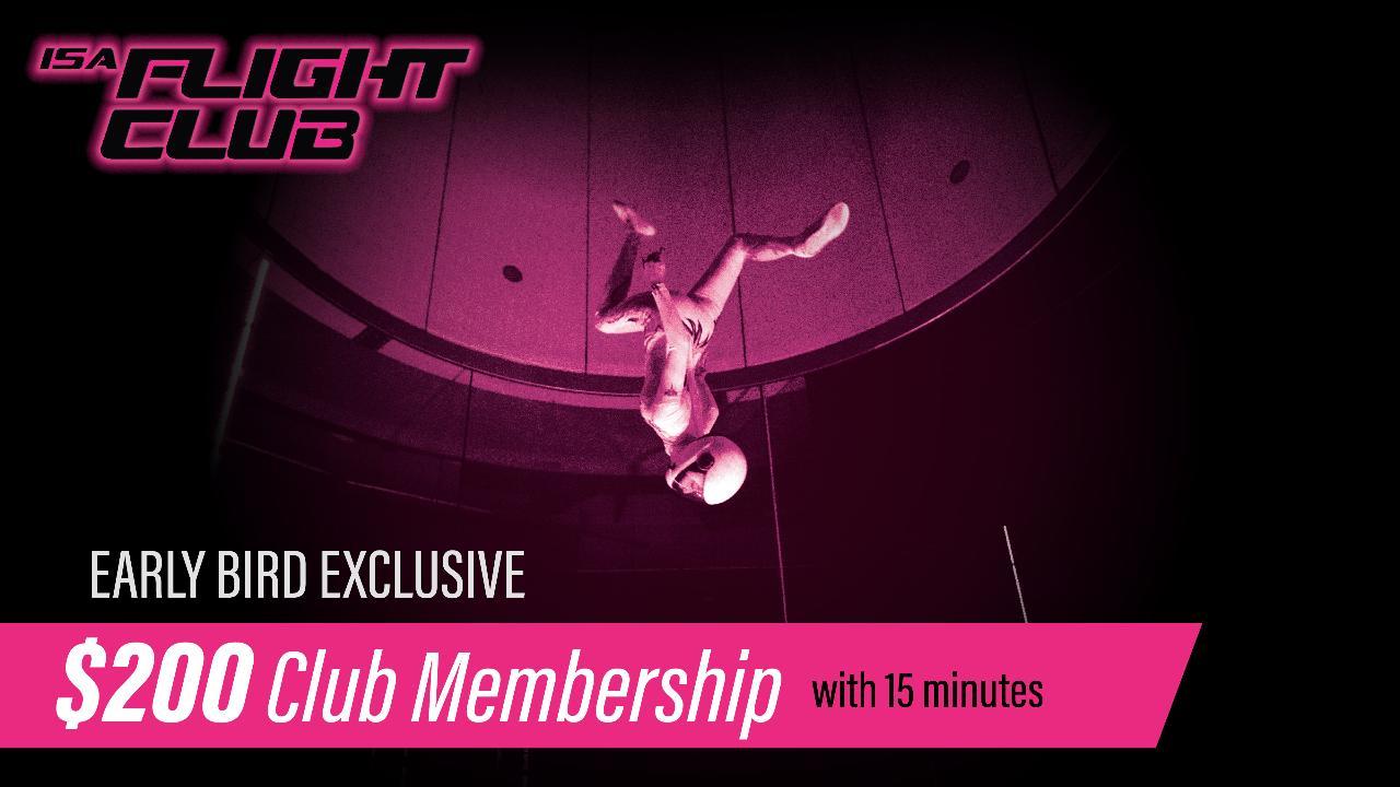 ISA Flight Club Membership FY20