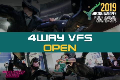 Australian Open 2019 - 4-way VFS Open - EARLY BIRD $50 OFF